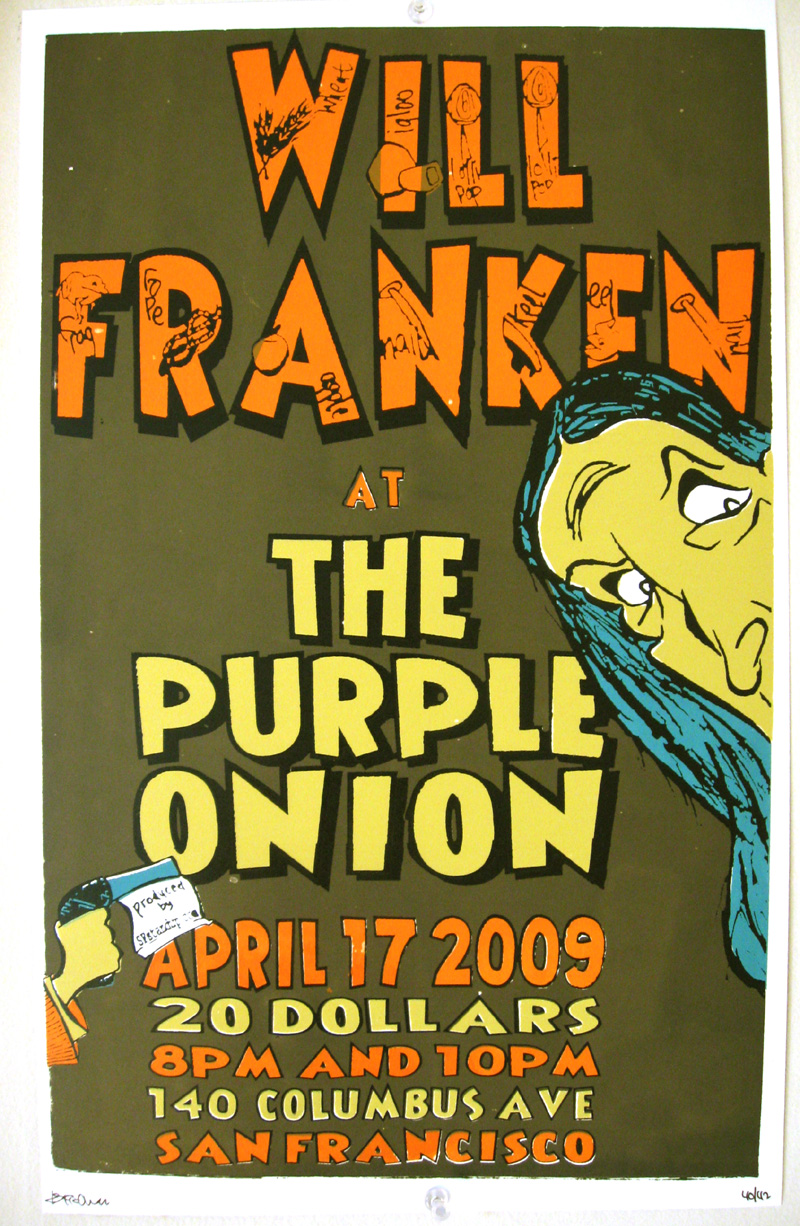 will franken poster
