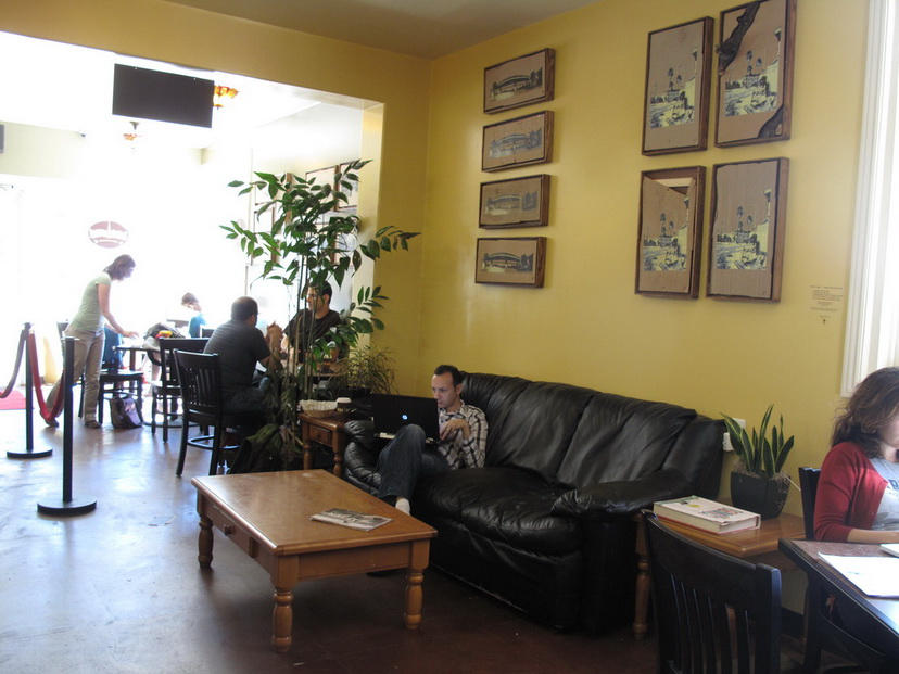 At Philz in 2012