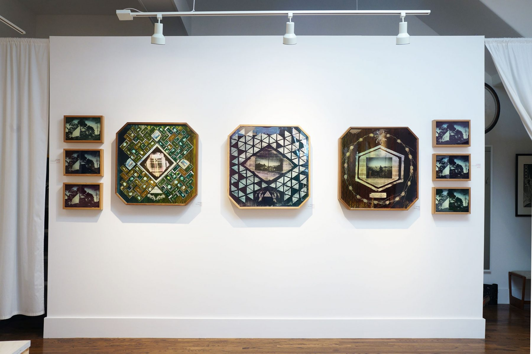 Tricky Triangle installed at Secession Art + Design (March 2015)