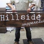 Hillside Supperclub Sign