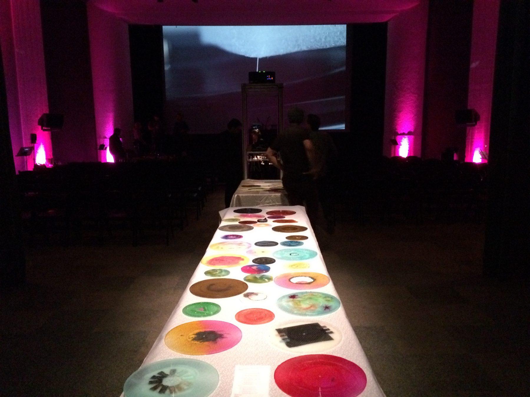 Interactive record display