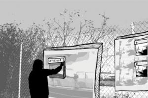UCSF Fence1
