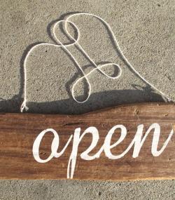 Arbor Sign Open