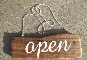 Arbor Sign Open1