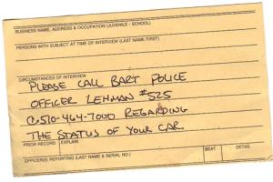 Bart Card