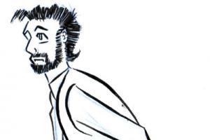Jon Cartoon Inked