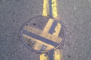 Misaligned Manhole