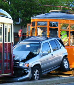 Muni Car Accident