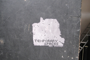 Temp Spaces Decal