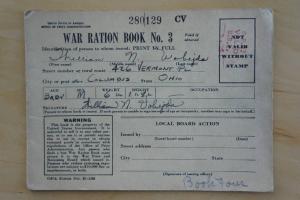 World War 2 Rations