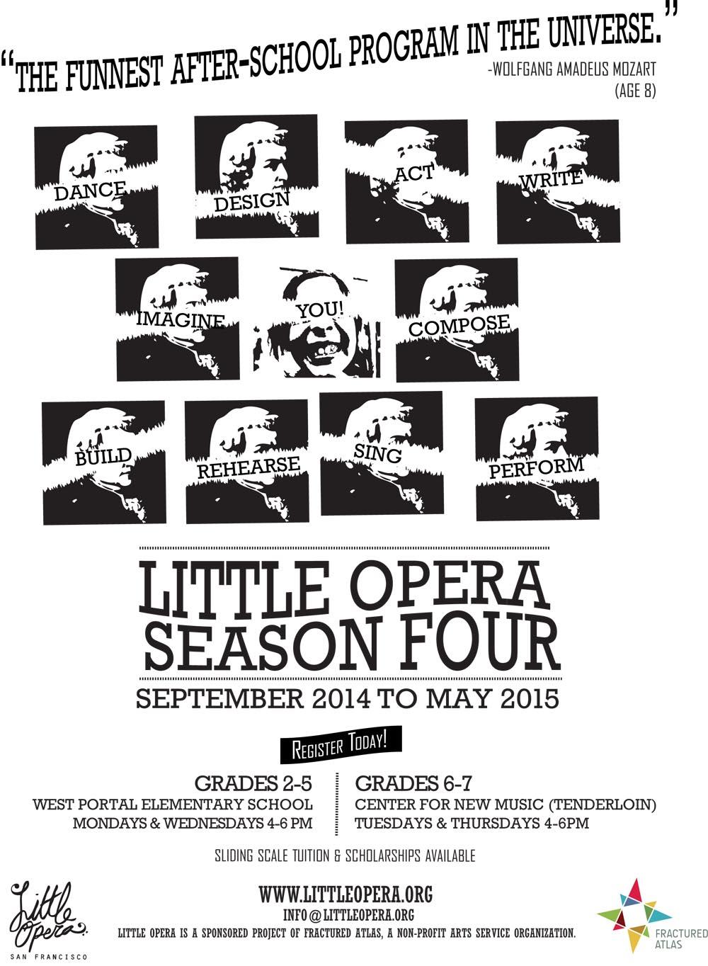 Little Opera 2014 Poster