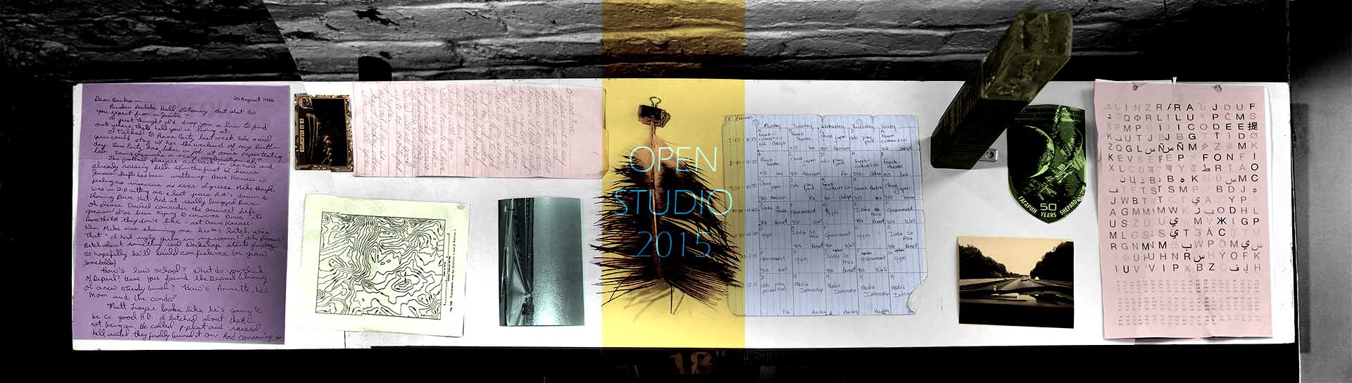 open studios scraps 2015