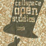 2009 CELLspace Open Studios Poster