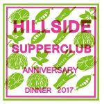 Hillside Supperclub Fourth Anniversary