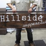 Hillside Supperclub Sign